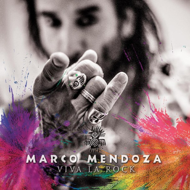 Marco Mendoza Viva la rock CD cover