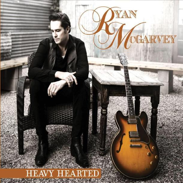Ryan Mc Garvey Heavy hearted CD Cover