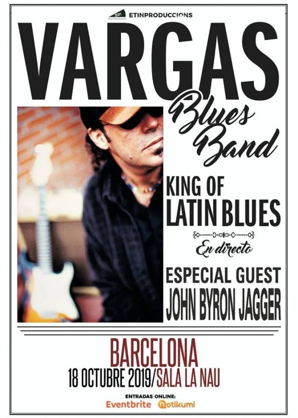 Vargas Blues Band BCN 2019