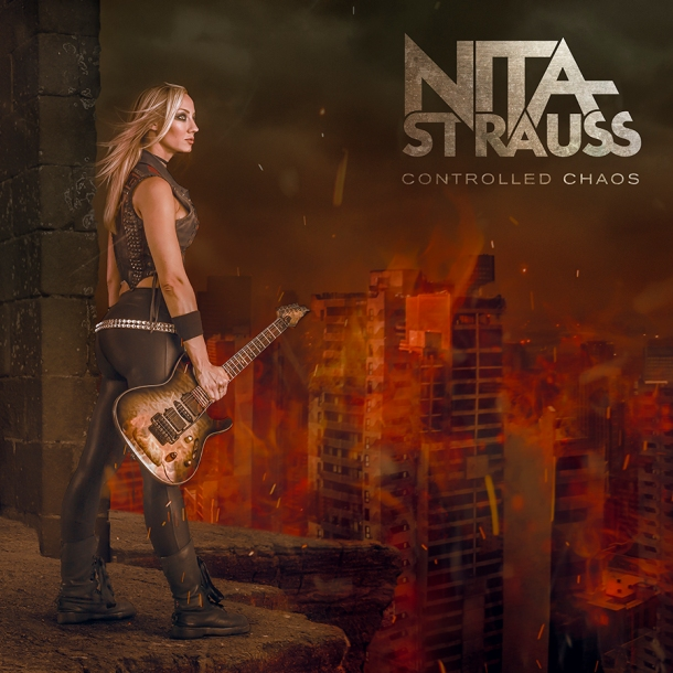 Nita Strauss Controlled Chaos CD cover