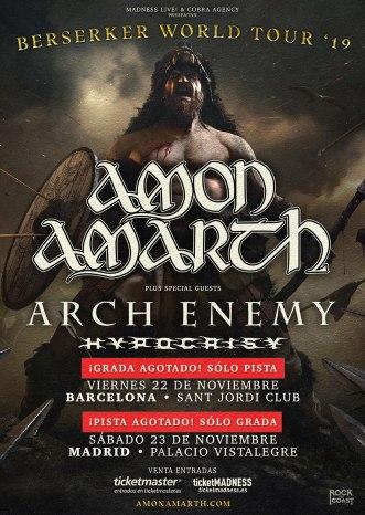 Amon Amarth 2019
