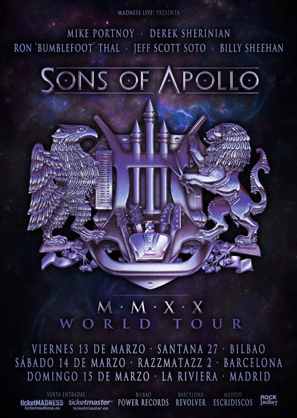 Sons of Apollo 2020