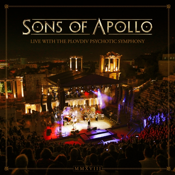 Sons of Apollo Live with the Plovdiv Psychotic Symphony CD Cover