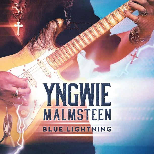 Yngwie Malmsteen Blue lightning cd cover