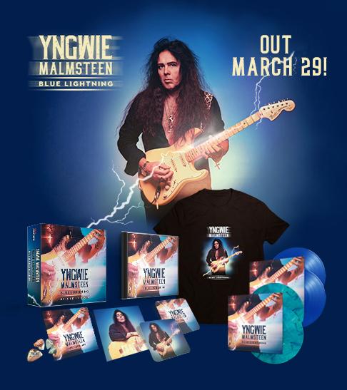 Yngwie Malmsteen Blue lightning promo 03