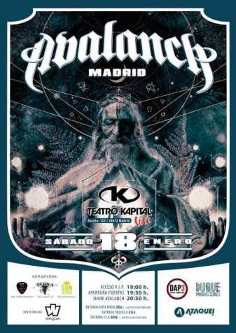 Avalanch Madrid 2020
