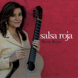 Berta Rojas salsa roja CD cover