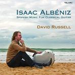 David Russell Isaac Albéniz CD cover