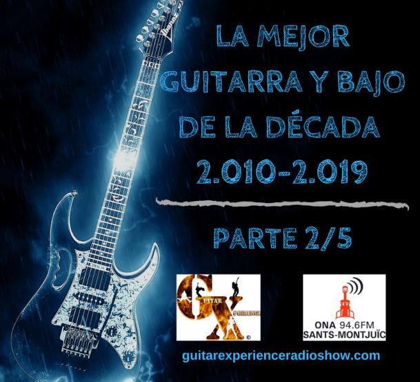 LA MEJOR GUITARRA Y BAJO DE LA DECADA PARTE 2 logo
