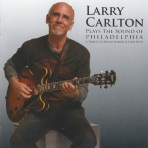 larry Carlton Plays sound of Philadeplphia CD cover