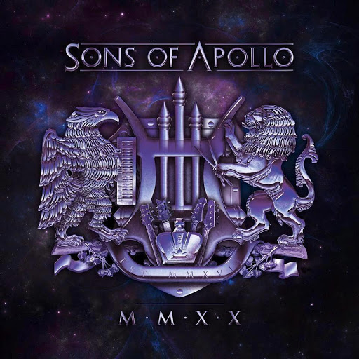 Sons of Apollo MMXX CD cover