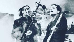 Juan Alderete & Marilyn Manson