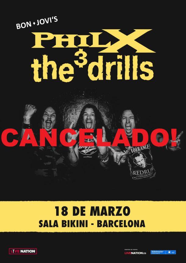 Phil X BCN 2020 cancelado