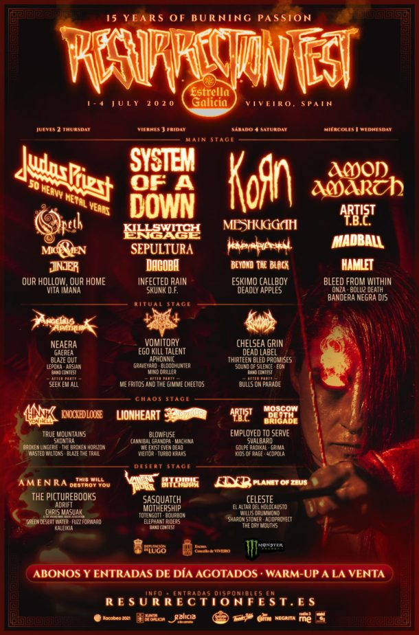 Resurrection Fest 2020 def vertical