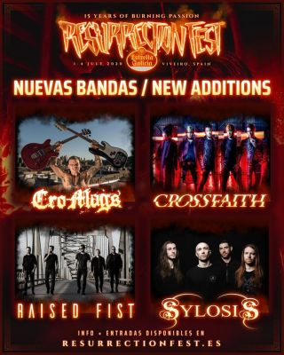 Resurrection Fest 2020 new bands