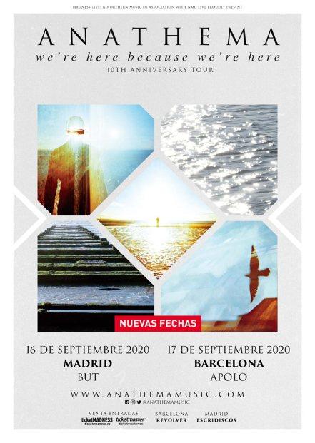 Anathema 2020 new dates