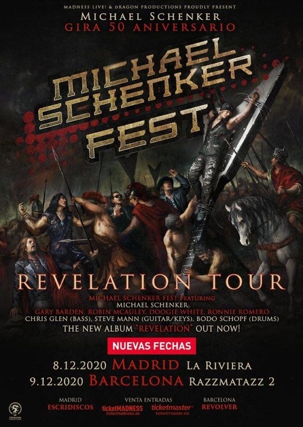 Michael Schenker Fest 2020 nuevas fechas