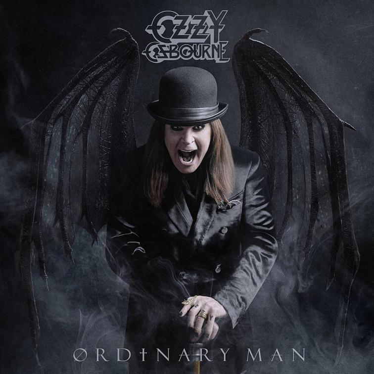 Ozzy Osbourne Ordinary Man CD Cover