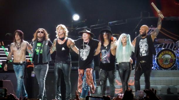 Guns N' Roses 2019
