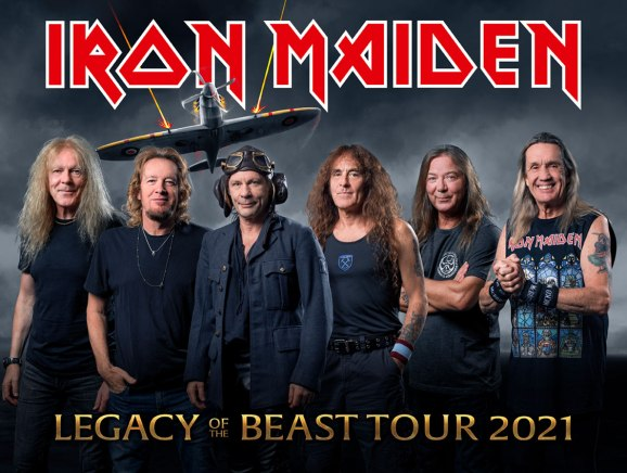 Iron Maiden 2021 provisional