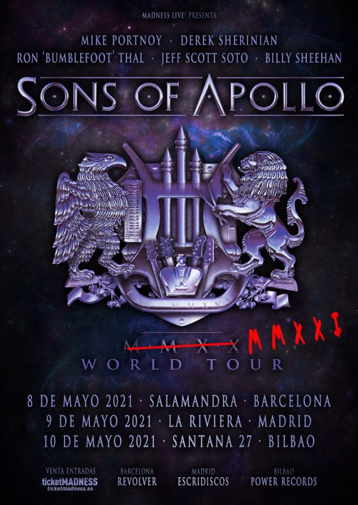 Sons of Apollo 2021