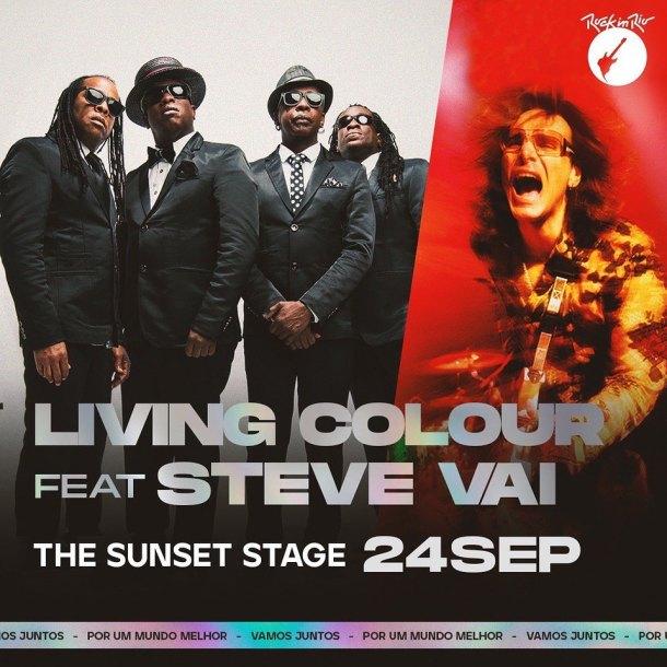 Steve Vai & Living Colour