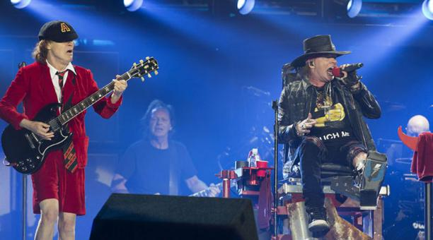 AC-DC with Axl Rose