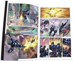 Joe Satriani Crystal Planet comic book 01