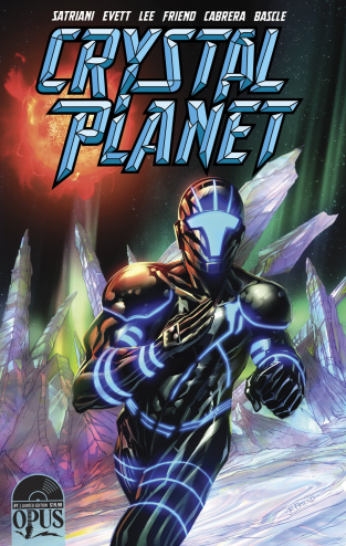Joe Satriani Crystal Planet comic book cover