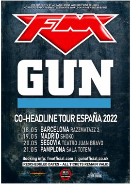FM + Gun Spain Tour 2022