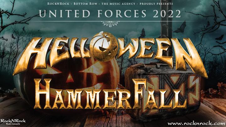 Helloween + Hammerfall 2022
