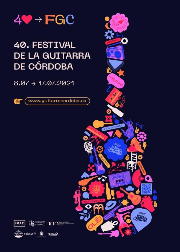 festival de la guitarra de córdoba 2021 banner vertical