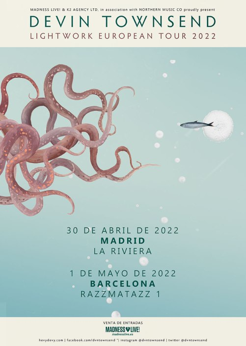 Devin Townsend Spain Tour 2.022