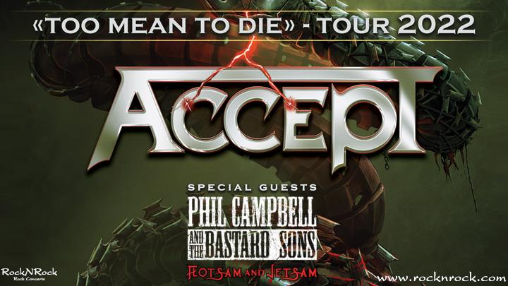 accept spain tour 2022
