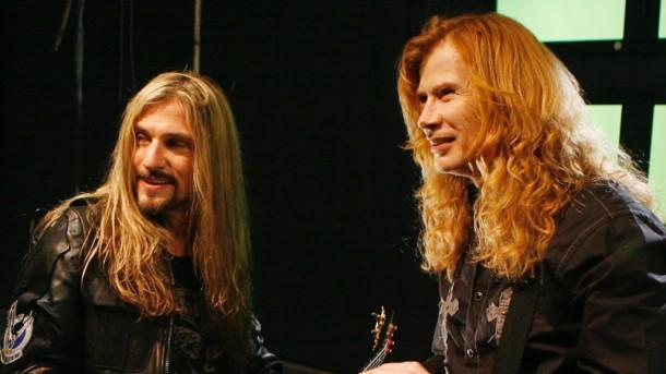 "Megadeth Video Shoot For ""A Tout Le Monde (Set Me Free)"""