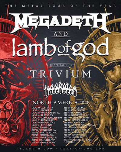 metal tour of the year